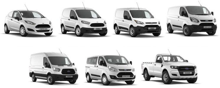 new car vans and pickup truck leasing