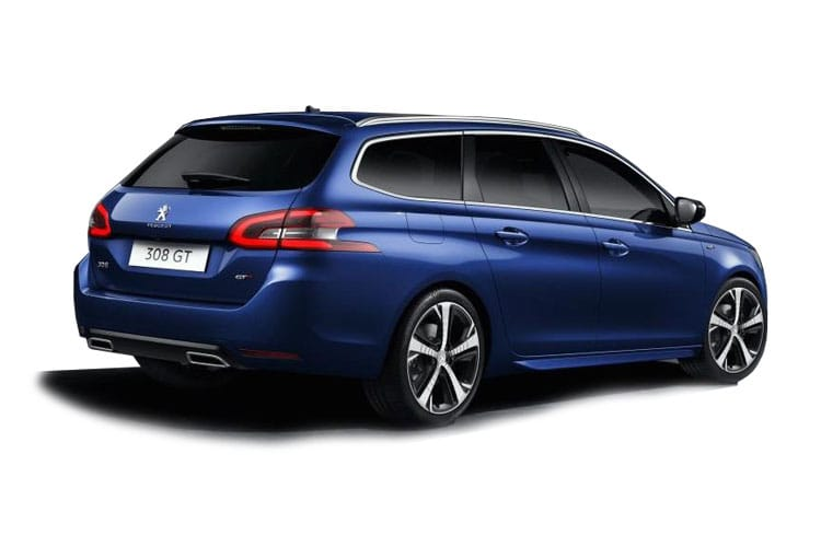 Peugeot 308 SW 5Dr 1.2 PureTech 130PS Allure Premium 5Dr EAT8 [Start Stop] back view