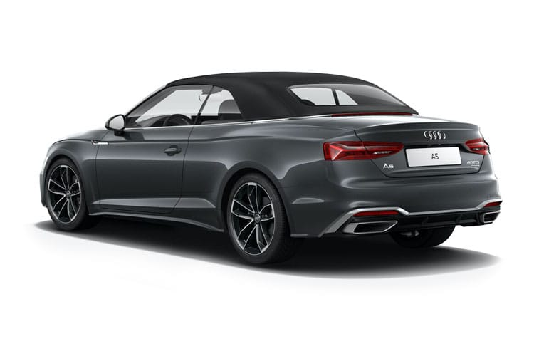 Audi A5 40 Cabriolet quattro 2Dr 2.0 TDI 204PS S line 2Dr S Tronic [Start Stop] [Comfort Sound] back view
