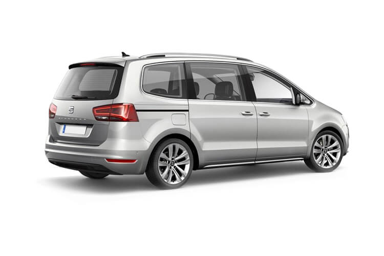 SEAT Alhambra MPV 5Dr 2.0 TDI Ecomotive 150PS XCELLENCE 5Dr Manual [Start Stop] back view