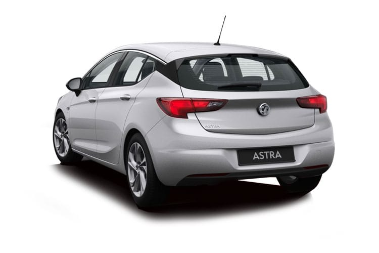 Vauxhall Astra Hatch 5Dr 1.5 Turbo D 122PS SRi 5Dr Manual [Start Stop] back view