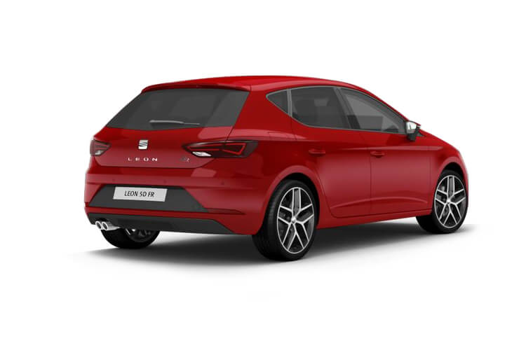 SEAT Leon Hatch 5Dr 1.0 eTSI MHEV 110PS XCELLENCE Lux 5Dr DSG [Start Stop] back view