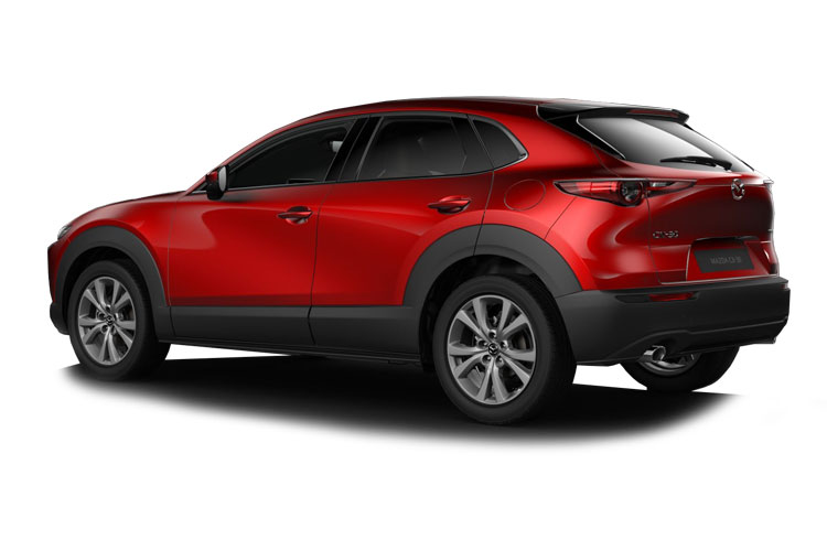 Mazda CX-30 SUV 2.0 e-SKYACTIV G MHEV 122PS Sport Lux 5Dr Manual [Start Stop] back view