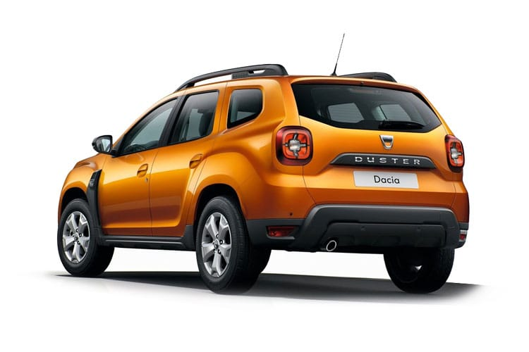 Dacia Duster SUV 2wd 1.0 TCe 90PS Essential 5Dr Manual [Start Stop] back view