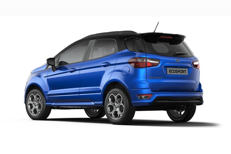 Ford EcoSport SUV 2WD 1.0 T EcoBoost 140PS ST-Line 5Dr Manual [Start Stop] [X Pack] back view