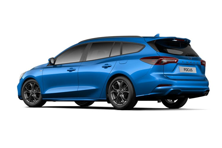 Ford Focus Estate 1.5 EcoBlue 120PS Active Edition 5Dr Auto [Start Stop] back view
