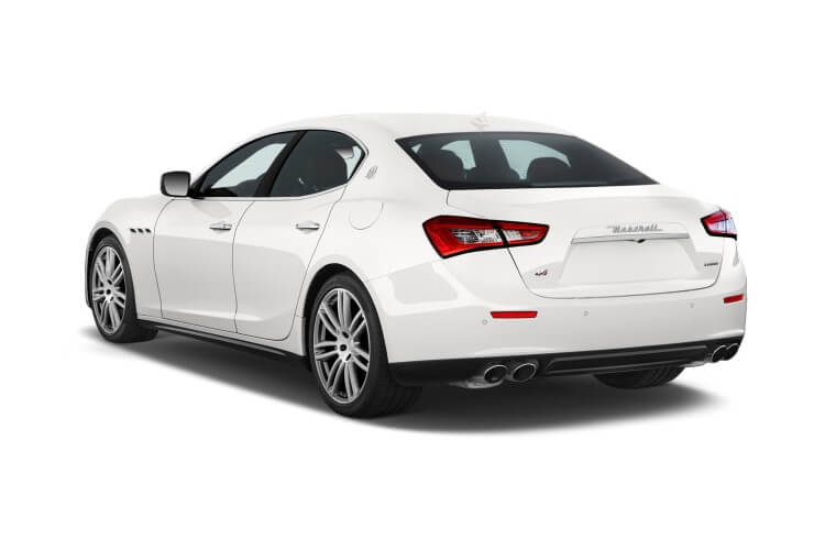 Maserati Ghibli Saloon 3.0 V6 350PS GranSport 4Dr ZF [Start Stop] [Nerissimo] back view
