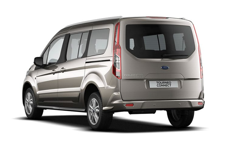 Ford Tourneo Connect Grand Tourneo Connect M1 1.5 EcoBlue FWD 100PS Zetec MPV Manual [Start Stop] [7Seat] back view