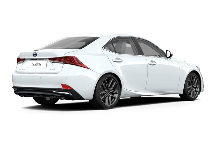 Lexus IS 300 Saloon 2.5 h 223PS F-Sport Limited Edition 4Dr E-CVT [Start Stop] back view
