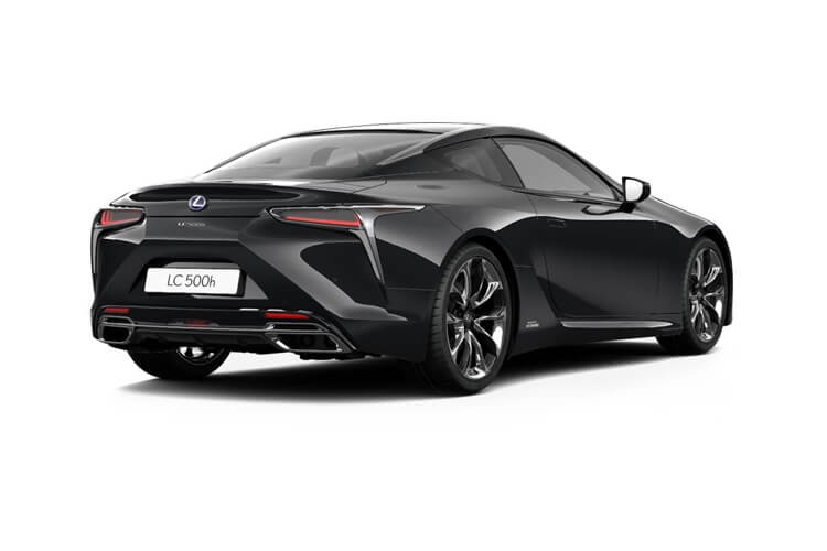 Lexus LC 500 Coupe 5.0 V8 464PS Sport Plus 2Dr Auto [HUD Levinson] back view