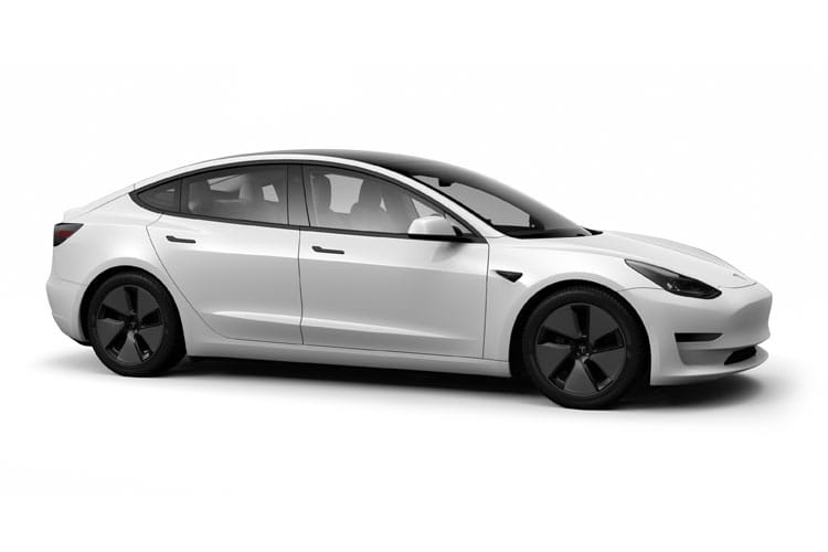 Tesla Model 3 4Dr Dual Motor Elec 258KW 346PS Long Range 4Dr Auto back view