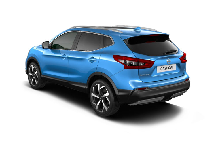 Nissan Qashqai SUV 2wd 1.3 DIG-T 160PS Acenta Premium 5Dr DCT Auto [Start Stop] back view