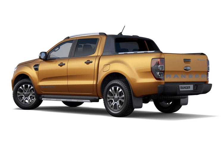 Ford Ranger PickUp Super Cab 4wd 2.0 EcoBlue 4WD 170PS XL Pickup Double Cab Manual [Start Stop] back view