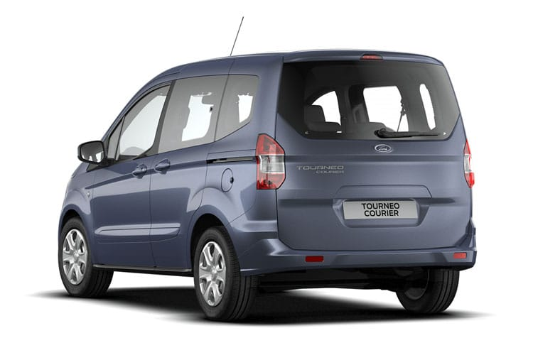 Ford Tourneo Courier M1 1.5 TDCi FWD 100PS Zetec MPV Manual [Start Stop] back view