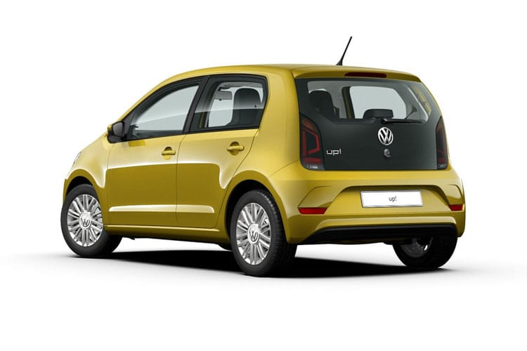Volkswagen up! Hatch 5Dr 1.0  60PS Black Edition 5Dr Manual [Start Stop] back view