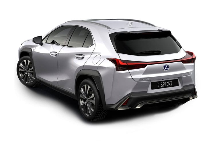 Lexus UX 250h SUV 4wd 2.0 h 184PS UX 5Dr E-CVT [Start Stop] [Prem Pro] back view