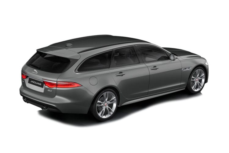 Jaguar XF Sportbrake 2.0 i 250PS R-Dynamic HSE 5Dr Auto [Start Stop] back view