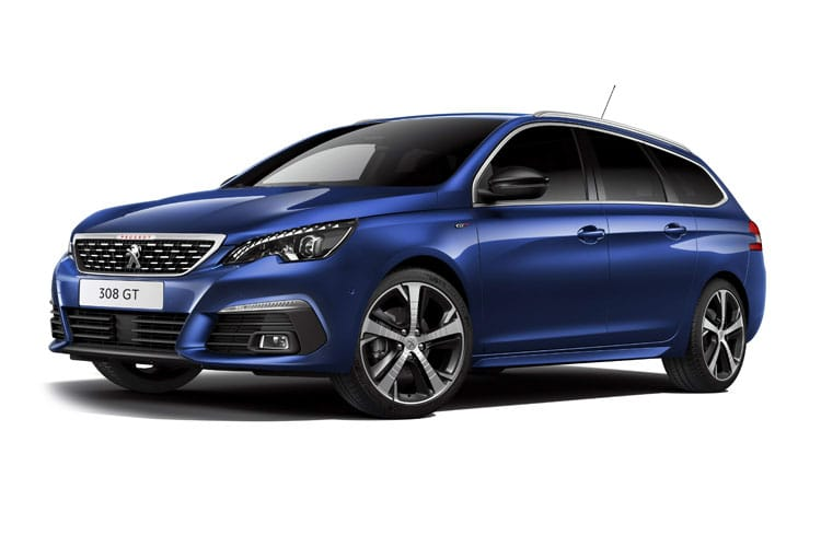 Peugeot 308 SW 5Dr 1.2 PureTech 130PS Allure Premium 5Dr EAT8 [Start Stop] front view