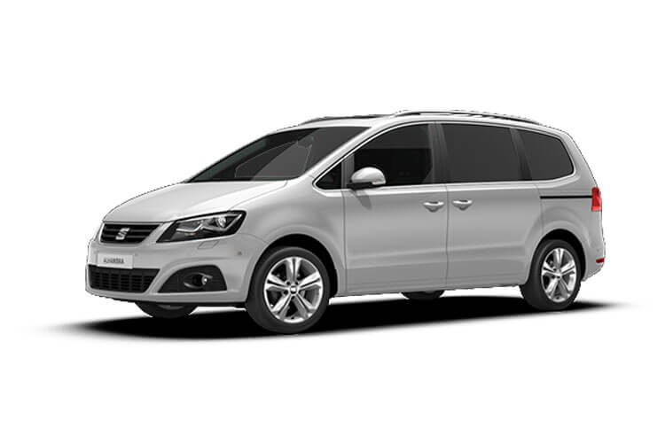 SEAT Alhambra MPV 5Dr 2.0 TDI Ecomotive 150PS XCELLENCE 5Dr Manual [Start Stop] front view