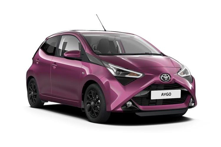Toyota Aygo Hatch 5Dr 1.0 VVTi 71PS x-cite 5Dr x-shift front view