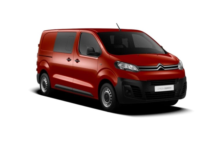 Citroen Dispatch M 1400Kg 2.0 BlueHDi FWD 150PS Driver Crew Van Manual [Start Stop] front view