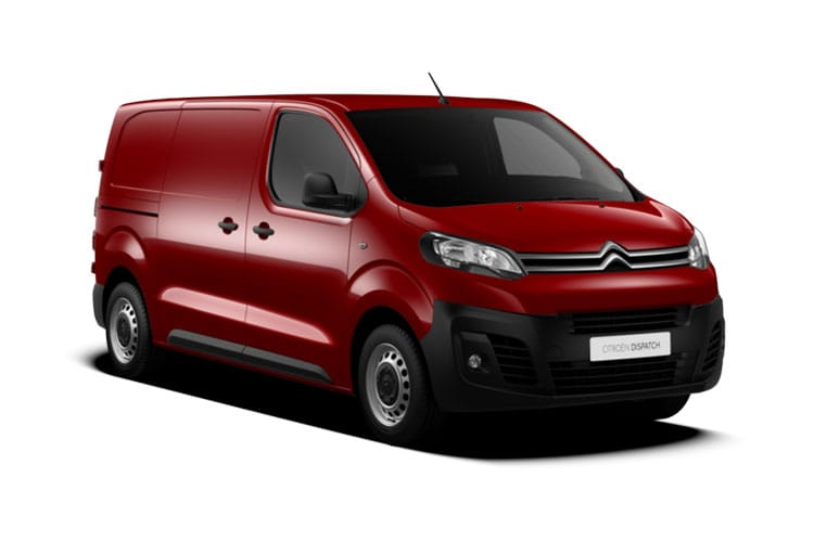 Citroen Dispatch M 1400Kg 2.0 BlueHDi FWD 120PS Driver Van Manual [Start Stop] front view