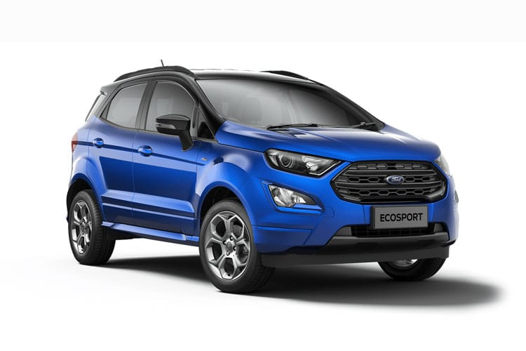 Ford EcoSport SUV 2WD 1.0 T EcoBoost 140PS ST-Line 5Dr Manual [Start Stop] [X Pack] front view