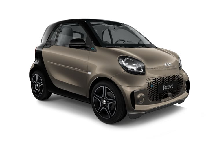 Smart ForTwo EQ ForTwo Coupe 2Dr Elec Drv 17.6kWh 60KW 82PS Exclusive 2Dr Auto [22kW Charger] front view