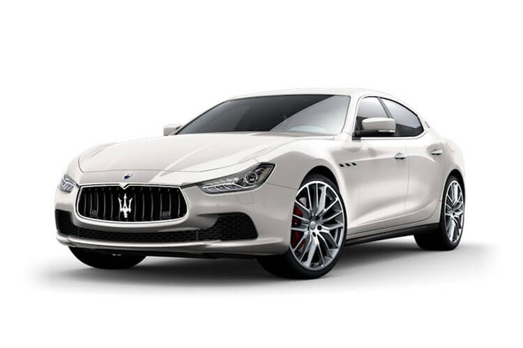 Maserati Ghibli Saloon 3.0 V6 350PS GranSport 4Dr ZF [Start Stop] [Nerissimo] front view