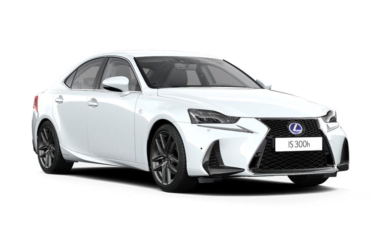 Lexus IS 300 Saloon 2.5 h 223PS F-Sport Limited Edition 4Dr E-CVT [Start Stop] front view