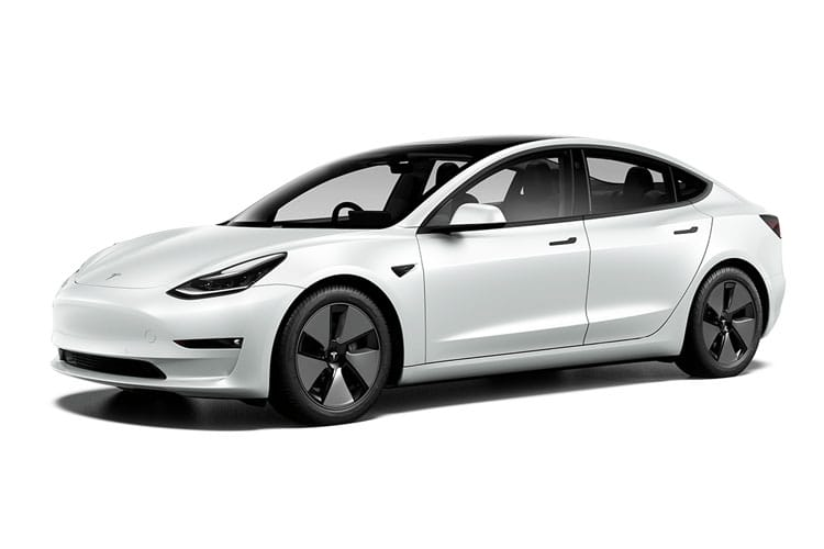 Tesla Model 3 4Dr Dual Motor Elec 258KW 346PS Long Range 4Dr Auto front view