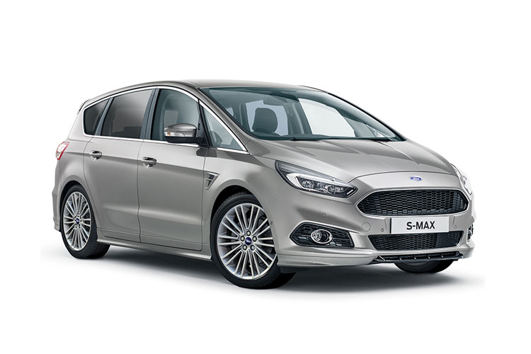 Ford S-MAX MPV AWD 2.0 EcoBlue 190PS ST-Line 5Dr Auto [Start Stop] front view