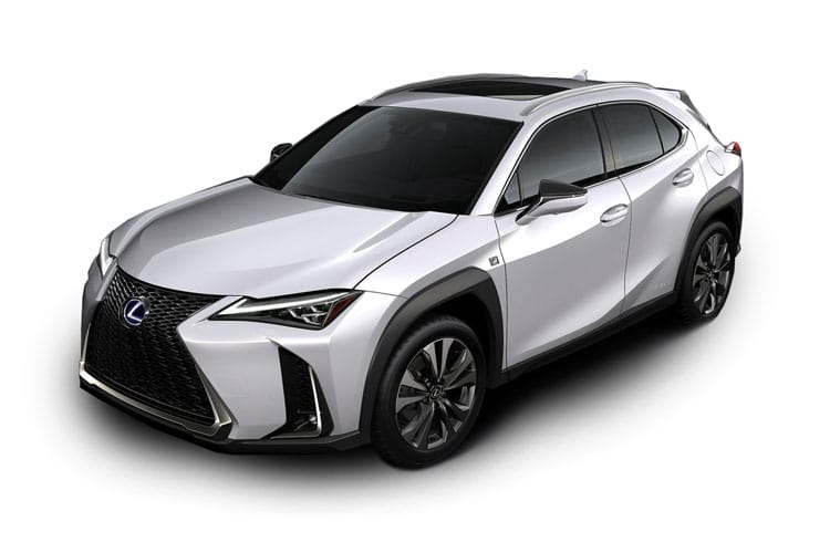 Lexus UX 250h SUV 4wd 2.0 h 184PS UX 5Dr E-CVT [Start Stop] [Prem Pro] front view
