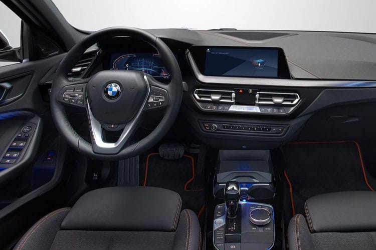 BMW 1 Series 116 Hatch 5Dr 1.5 d 116PS M Sport 5Dr DCT [Start Stop] inside view