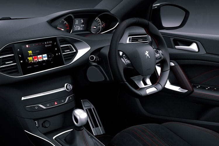Peugeot 308 SW 5Dr 1.2 PureTech 130PS Allure Premium 5Dr EAT8 [Start Stop] inside view