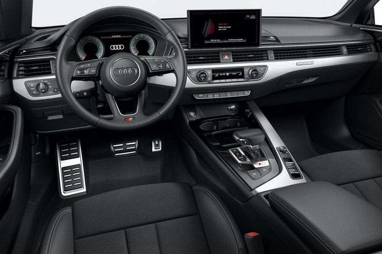 Audi A5 40 Cabriolet quattro 2Dr 2.0 TDI 204PS S line 2Dr S Tronic [Start Stop] [Comfort Sound] inside view