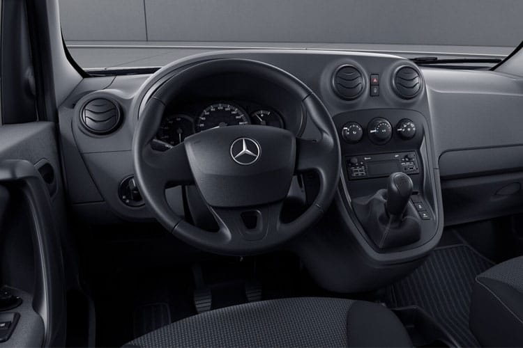 Mercedes-Benz Citan 109 L2 1.5 CDi FWD 94PS Pure Van Manual inside view