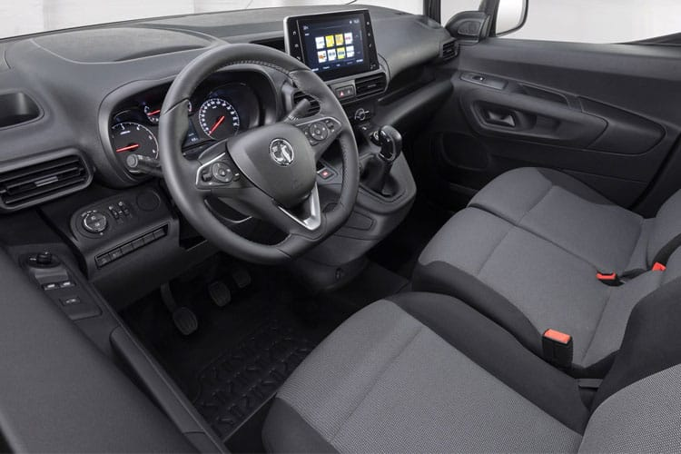 Vauxhall Combo Cargo L1 2000 1.5 Turbo D FWD 75PS Dynamic Van Manual inside view