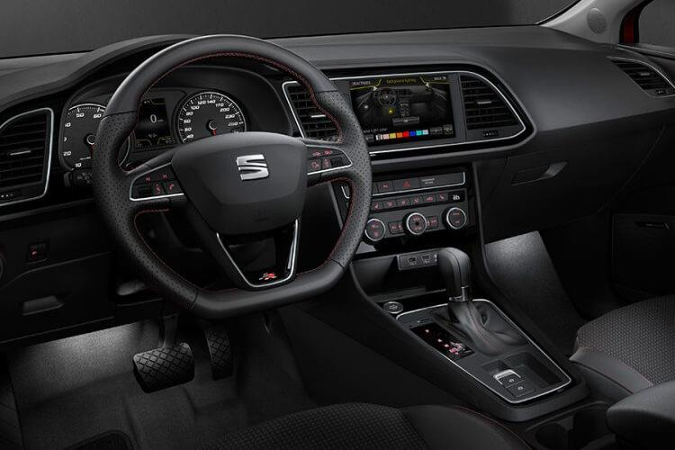 SEAT Leon Hatch 5Dr 1.0 eTSI MHEV 110PS XCELLENCE Lux 5Dr DSG [Start Stop] inside view