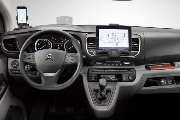 Citroen Dispatch M 1400Kg 2.0 BlueHDi FWD 120PS Driver Van Manual [Start Stop] inside view
