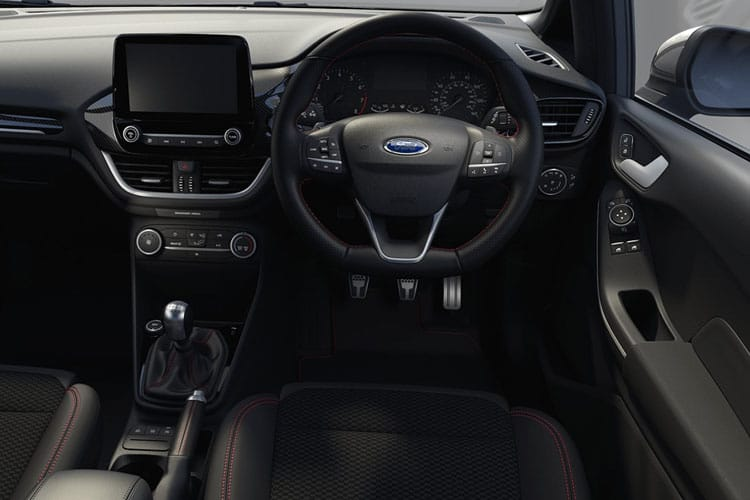 Ford Fiesta Hatch 3Dr 1.0 T EcoBoost MHEV 125PS ST-Line X Edition 3Dr Manual [Start Stop] inside view