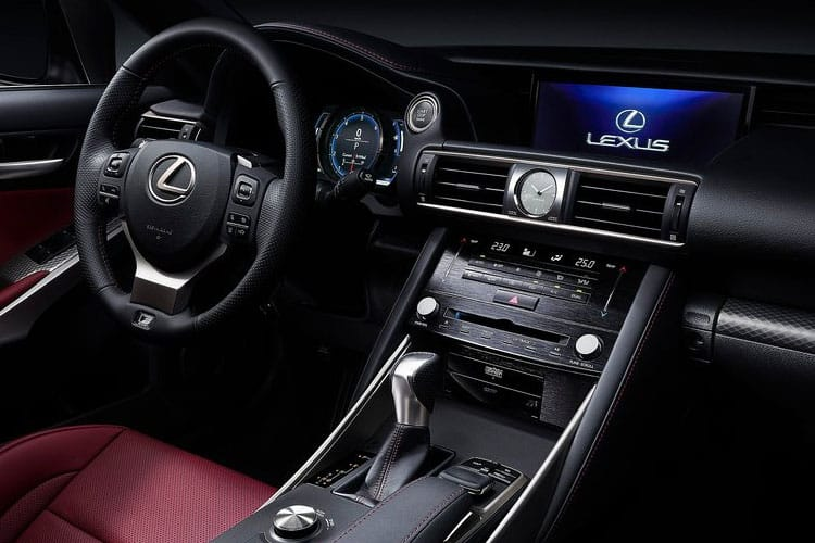Lexus IS 300 Saloon 2.5 h 223PS F-Sport Limited Edition 4Dr E-CVT [Start Stop] inside view