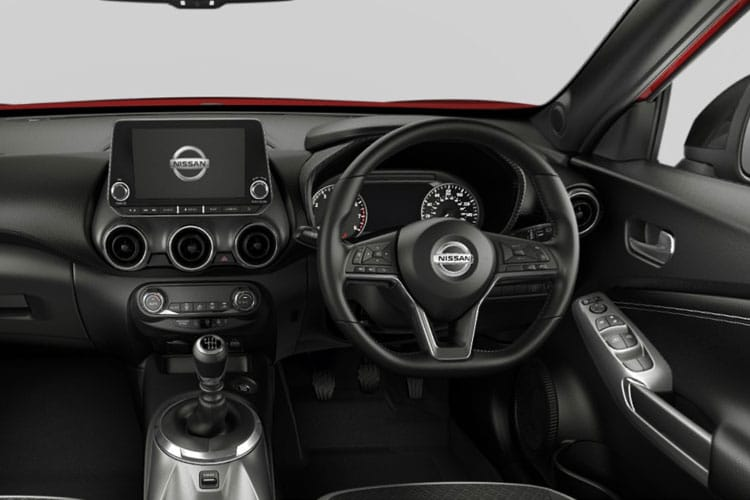 Nissan Juke SUV 1.0 DIG-T 114PS N-Connecta 5Dr DCT Auto [Start Stop] inside view