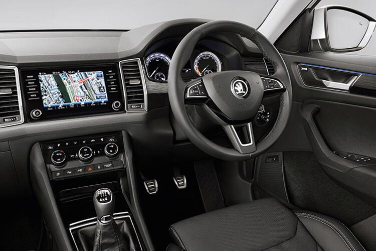 Skoda Kodiaq SUV 1.5 TSi ACT 150PS SE L 5Dr Manual [Start Stop] [7Seat] inside view