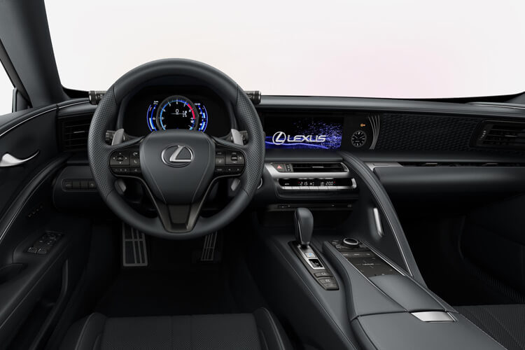 Lexus LC 500 Coupe 5.0 V8 464PS Sport Plus 2Dr Auto [HUD Levinson] inside view