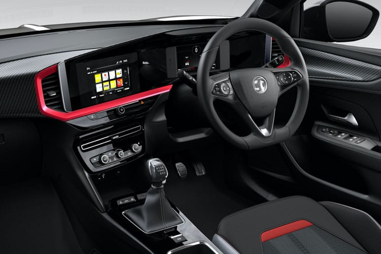 Vauxhall Mokka SUV 2wd Elec 50kWh 100KW 136PS Launch Edition 5Dr Auto inside view