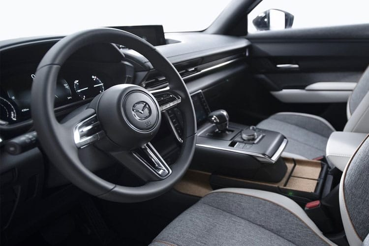 Mazda MX-30 SUV Elec 35.5kWh 107KW 145PS First Edition 5Dr Auto inside view