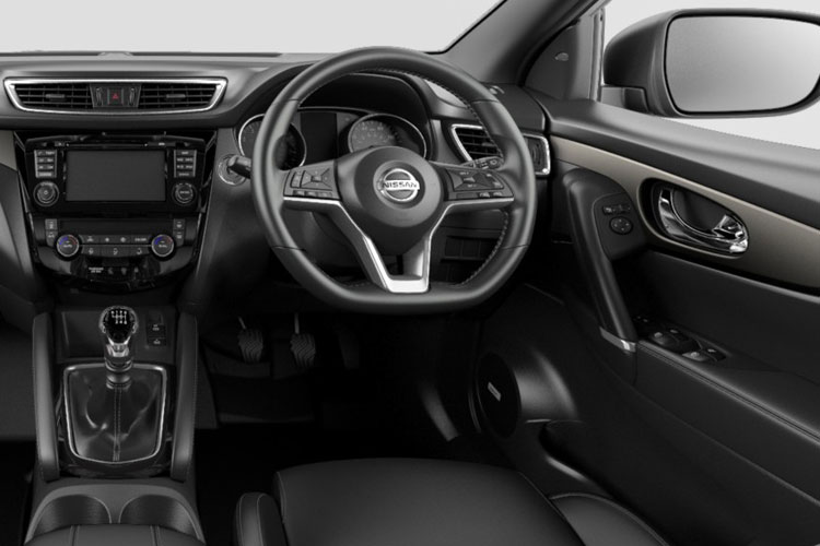 Nissan Qashqai SUV 2wd 1.3 DIG-T 160PS Acenta Premium 5Dr DCT Auto [Start Stop] inside view