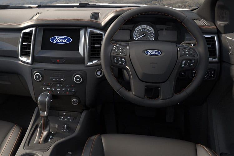 Ford Ranger PickUp Super Cab 4wd 2.0 EcoBlue 4WD 170PS XL Pickup Double Cab Manual [Start Stop] inside view