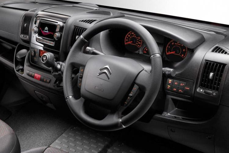 Citroen Relay 35 L3 2.2 BlueHDi FWD 140PS X Platform Cab Manual [Start Stop] inside view